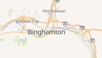 Binghamton, New York map