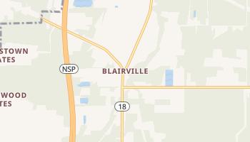 Blairville, New York map