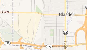 Blasdell, New York map