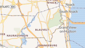 Blauvelt, New York map