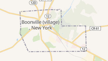 Boonville, New York map