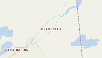 Brandreth, New York map