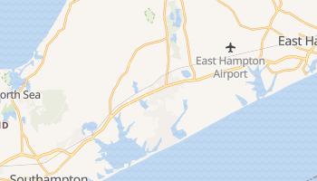 Bridgehampton, New York map