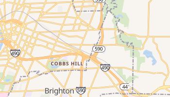 Brighton, New York map
