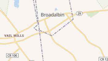 Broadalbin, New York map