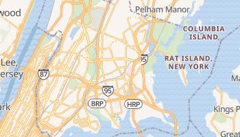 Bronx, New York map