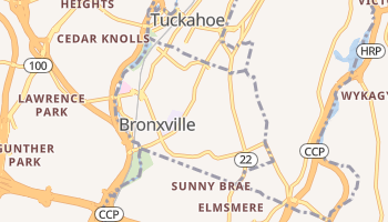 Bronxville, New York map