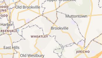 Brookville, New York map