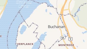 Buchanan, New York map