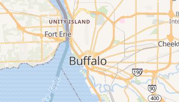 Buffalo, New York map