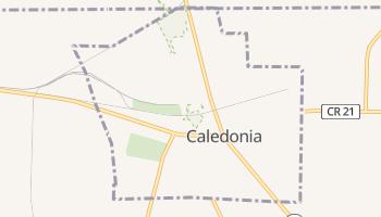 Caledonia, New York map