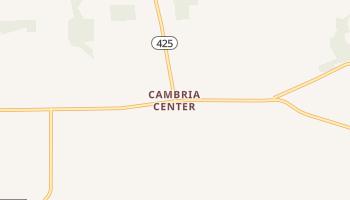 Cambria Center, New York map