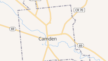 Camden, New York map