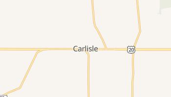 Carlisle, New York map
