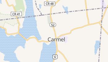 Carmel, New York map