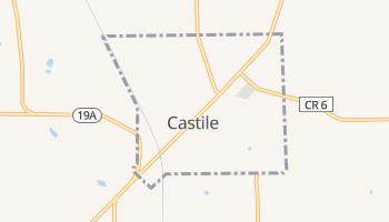 Castile, New York map