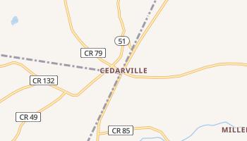 Cedarville, New York map