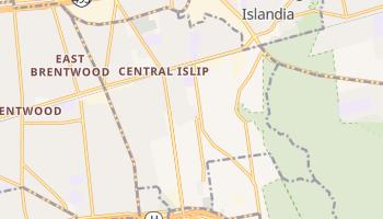 Central Islip, New York map