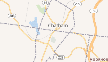 Chatham, New York map