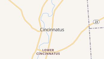 Cincinnatus, New York map