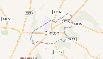 Clinton, New York map