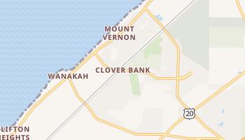 Clover Bank, New York map