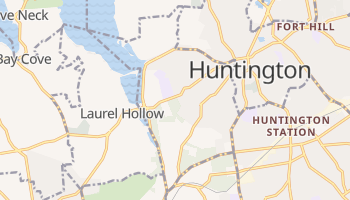 Cold Spring Harbor, New York map