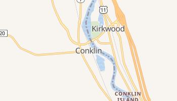 Conklin, New York map