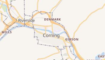 Corning, New York map