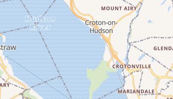 Croton-on-Hudson, New York map