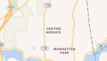 Croton Heights, New York map