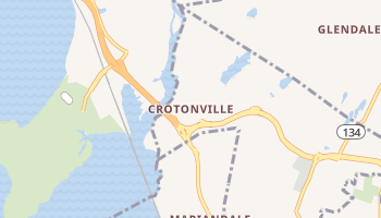 Crotonville, New York map