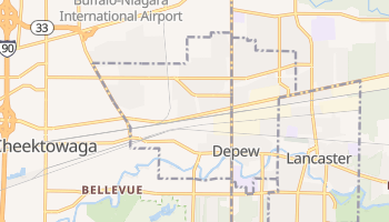 Depew, New York map