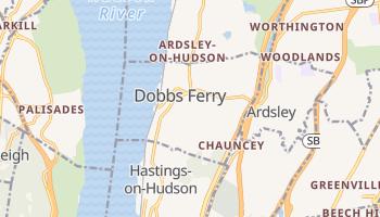 Dobbs Ferry, New York map