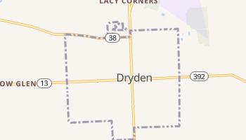 Dryden, New York map
