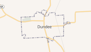 Dundee, New York map