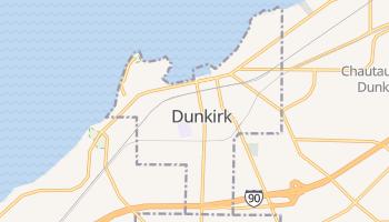 Dunkirk, New York map