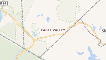 Eagle Valley, New York map