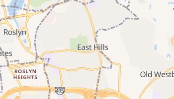 East Hills, New York map
