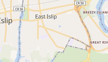 East Islip, New York map