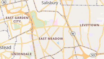 East Meadow, New York map