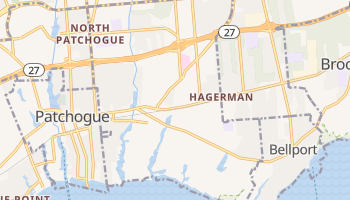 East Patchogue, New York map