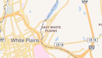 East White Plains, New York map