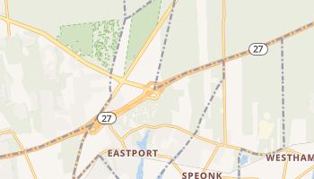 Eastport, New York map
