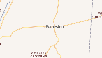 Edmeston, New York map