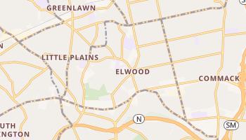 Elwood, New York map