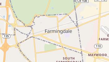 Farmingdale, New York map