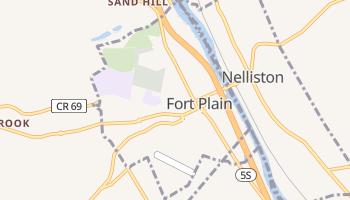 Fort Plain, New York map