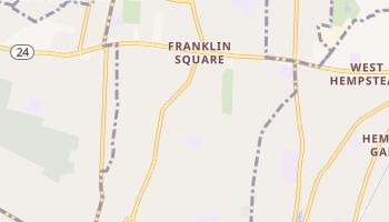 Franklin Square, New York map
