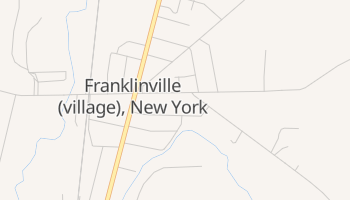 Franklinville, New York map